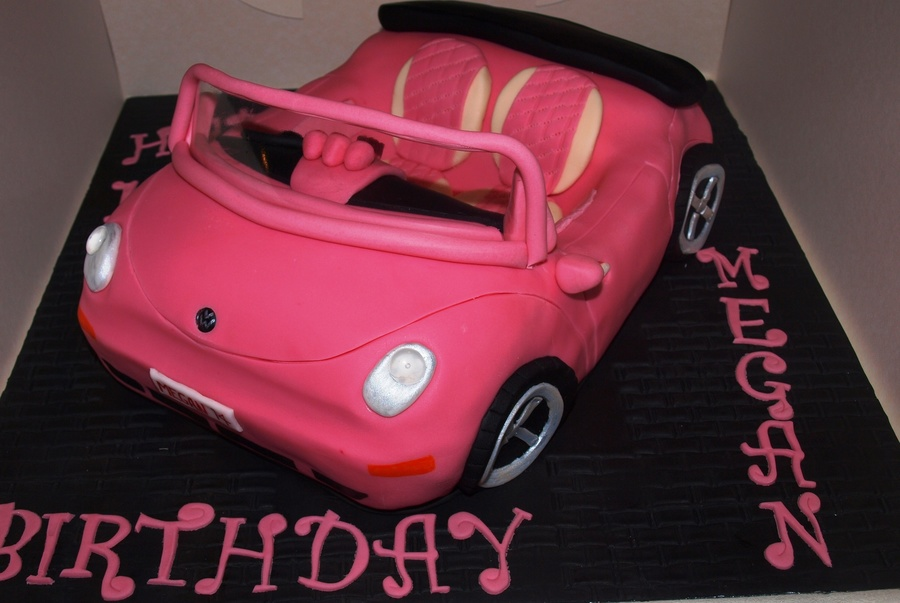 Vw Beetle on Cake Central