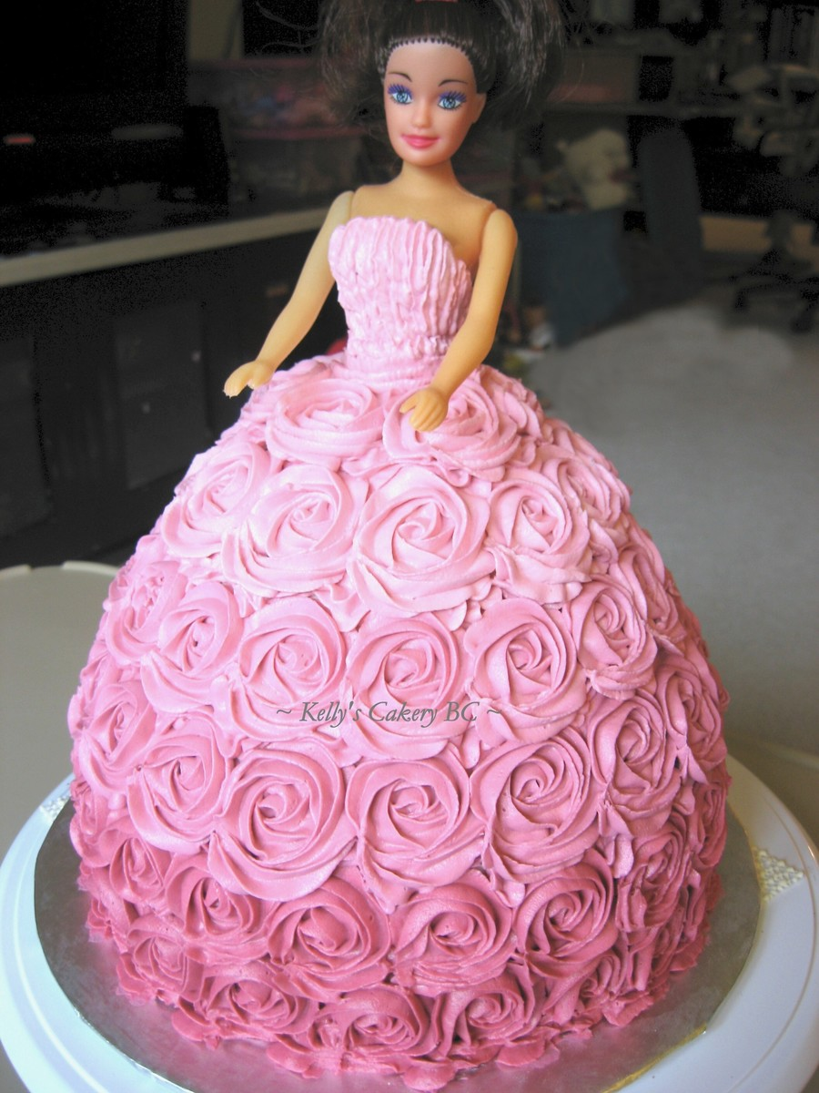 Barbie Dress Birthday Cake