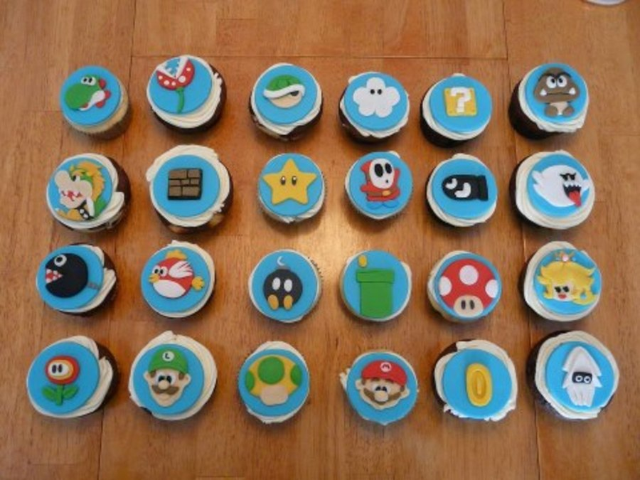 Mario Bross Nitendo on Cake Central
