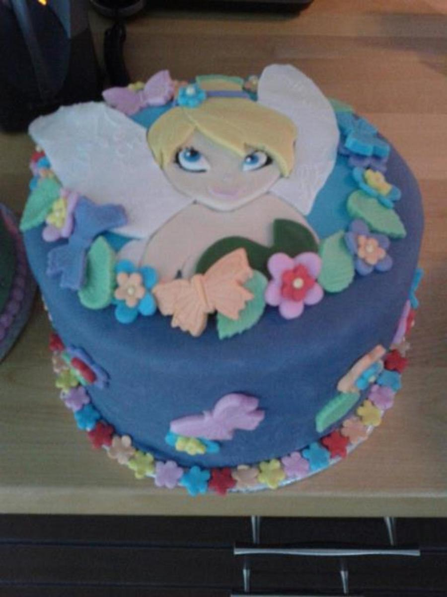Fairy Fee Clochette Tinkerbell on Cake Central