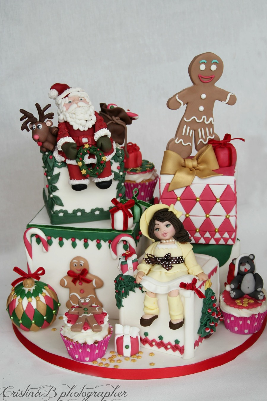 Magical Christmas on Cake Central