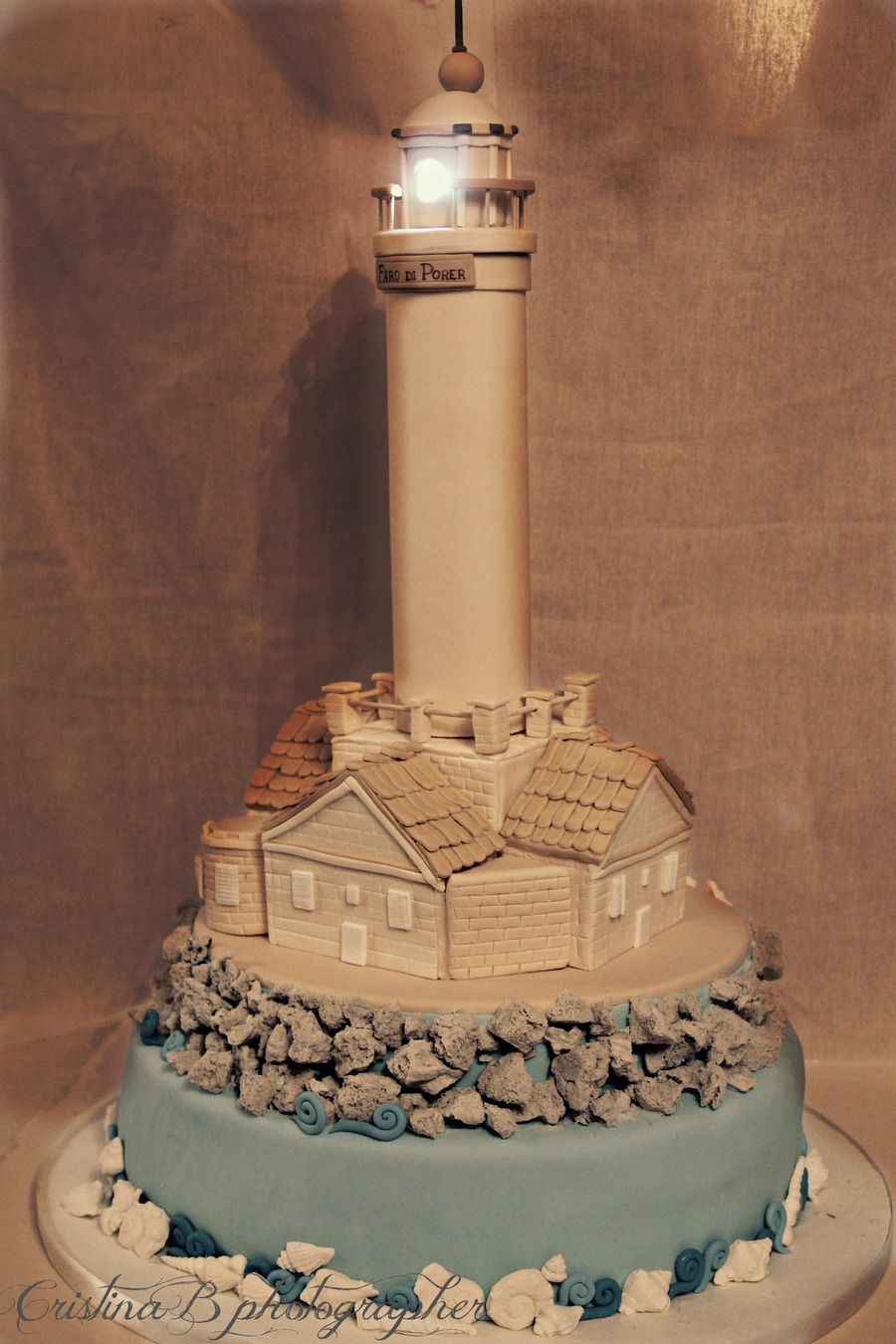 Lighthouse on Cake Central