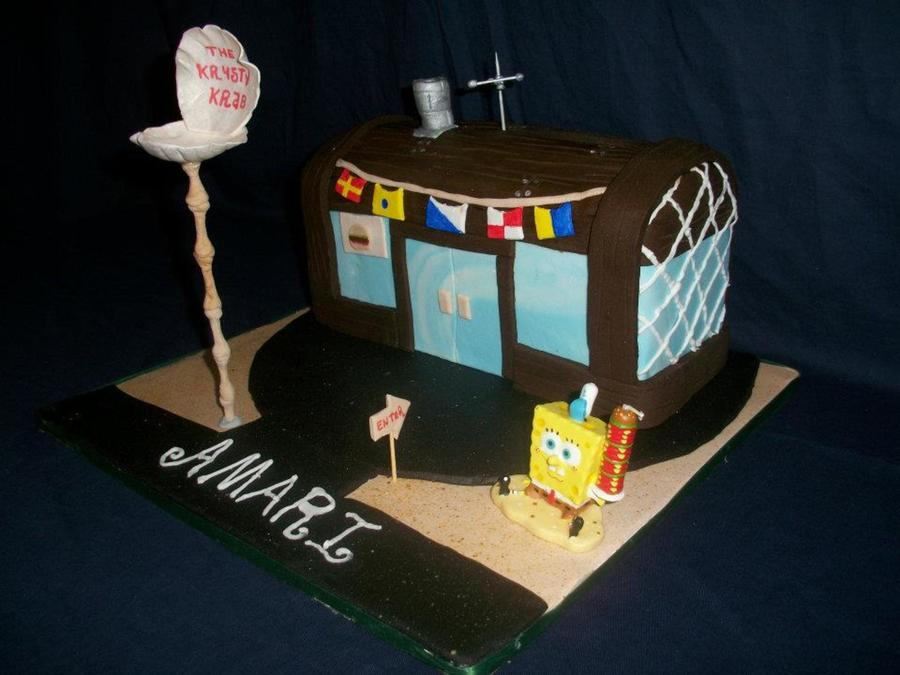 Krusty Krab on Cake Central