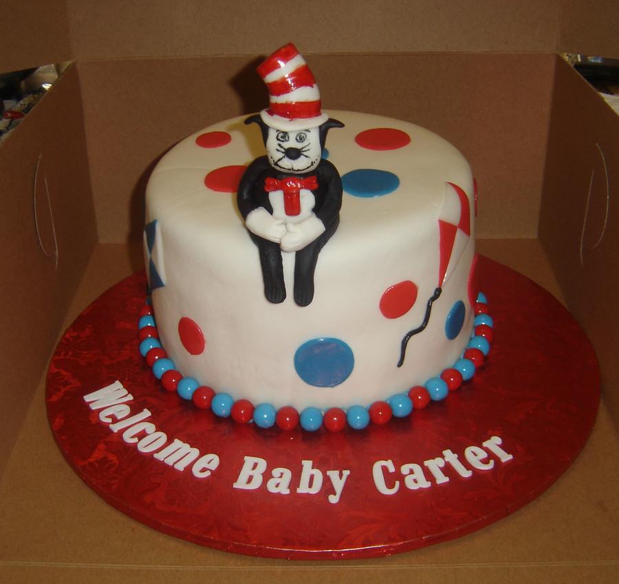 Cat In The Hat Cake Topper Tutorial