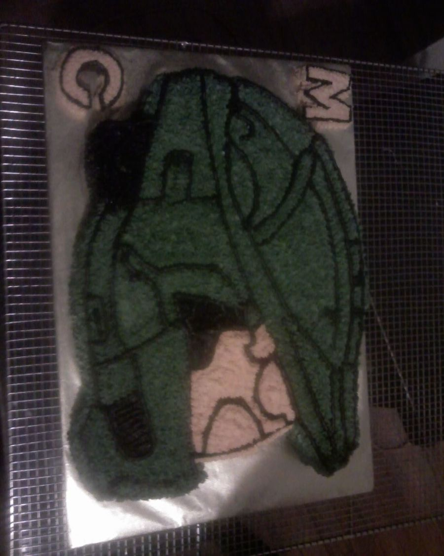 Halo Master Chief Helmet  on Cake Central
