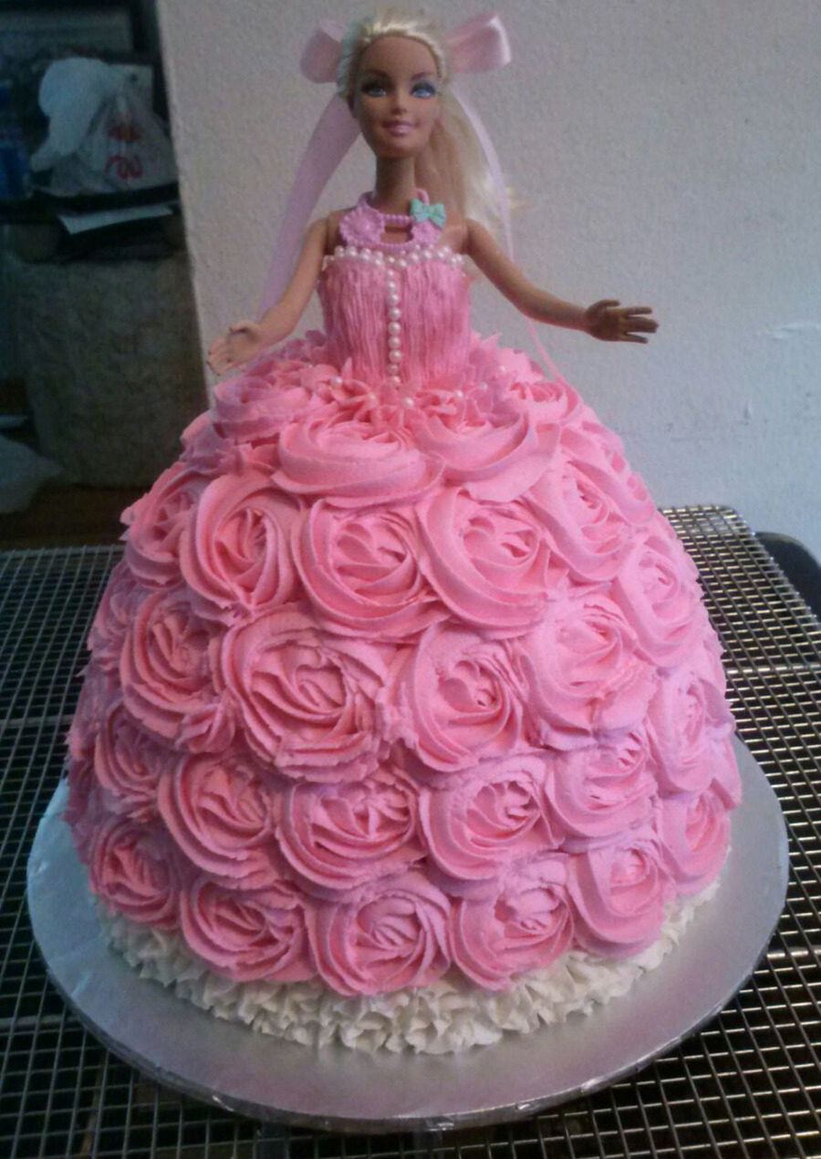 Download Barbie Cake Images : Barbie Doll Cake - CakeCentral.com