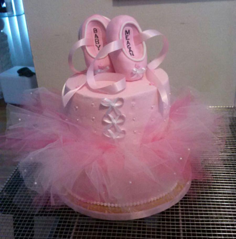 ballerina baby shower cake on cake central
