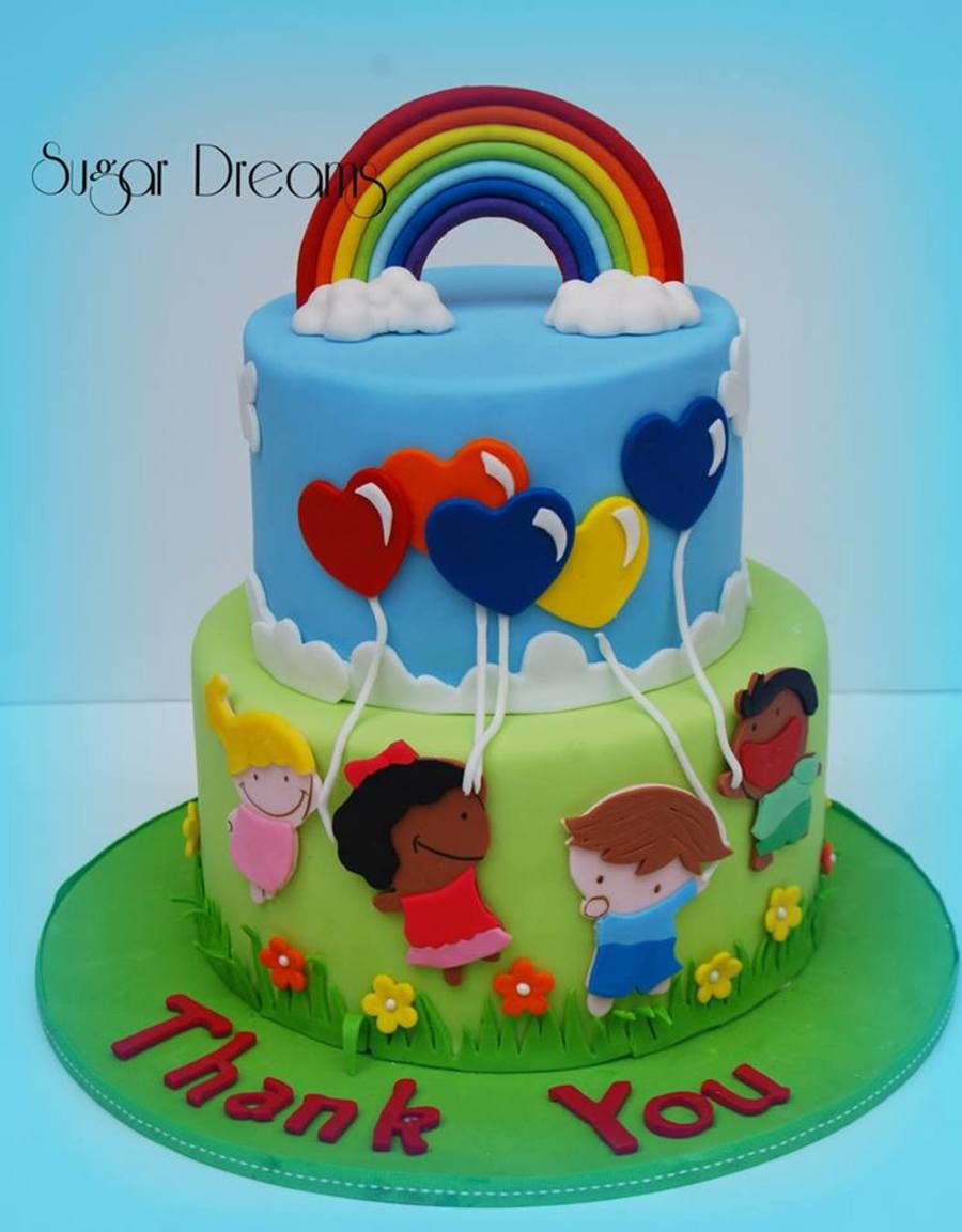 We Made This Cake For Some Special People That Spend Their ...