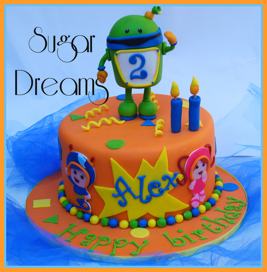 A Team Umizoomi Cakeall The Characters Are Handmade With