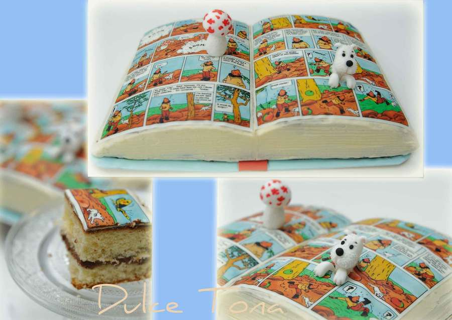 Tintin Cake on Cake Central