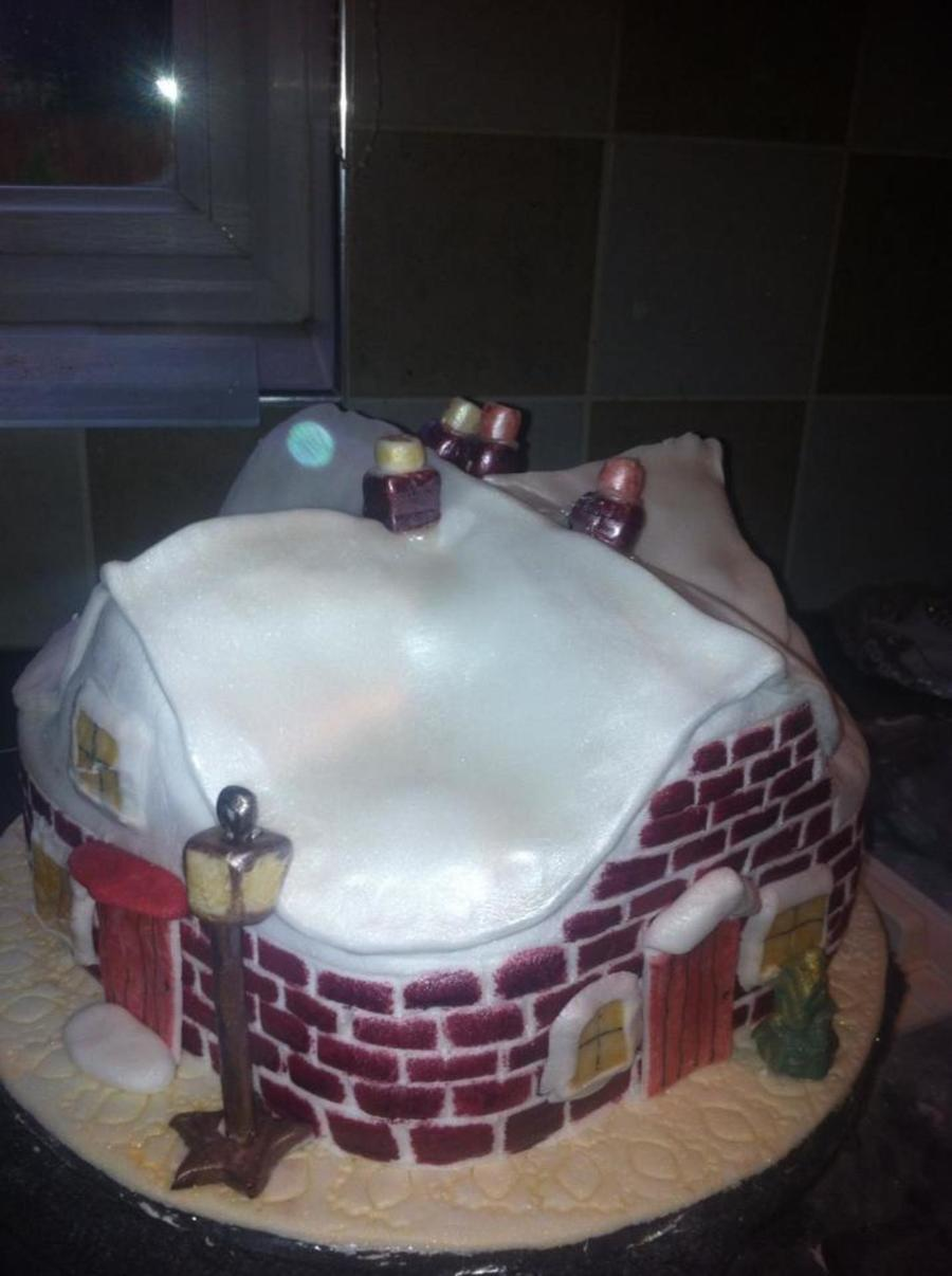 My Christmas Cake on Cake Central