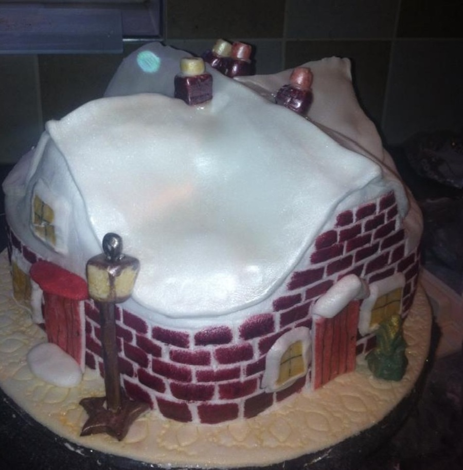 My Christmas Cake2 on Cake Central