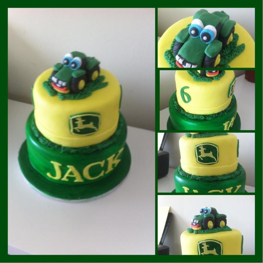 John Deere 2 Tier Cake Cakecentral Com