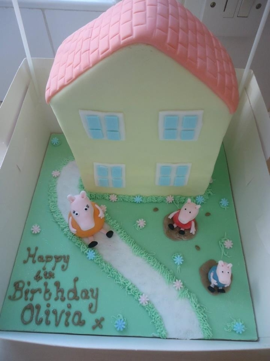 My Daughters Birthday Cake She Loves Peppa Pig on Cake Central