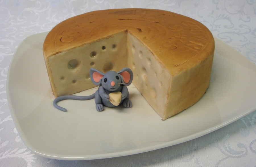 Gruyere Cheese And Mouse ( Chocolate Cake ) on Cake Central