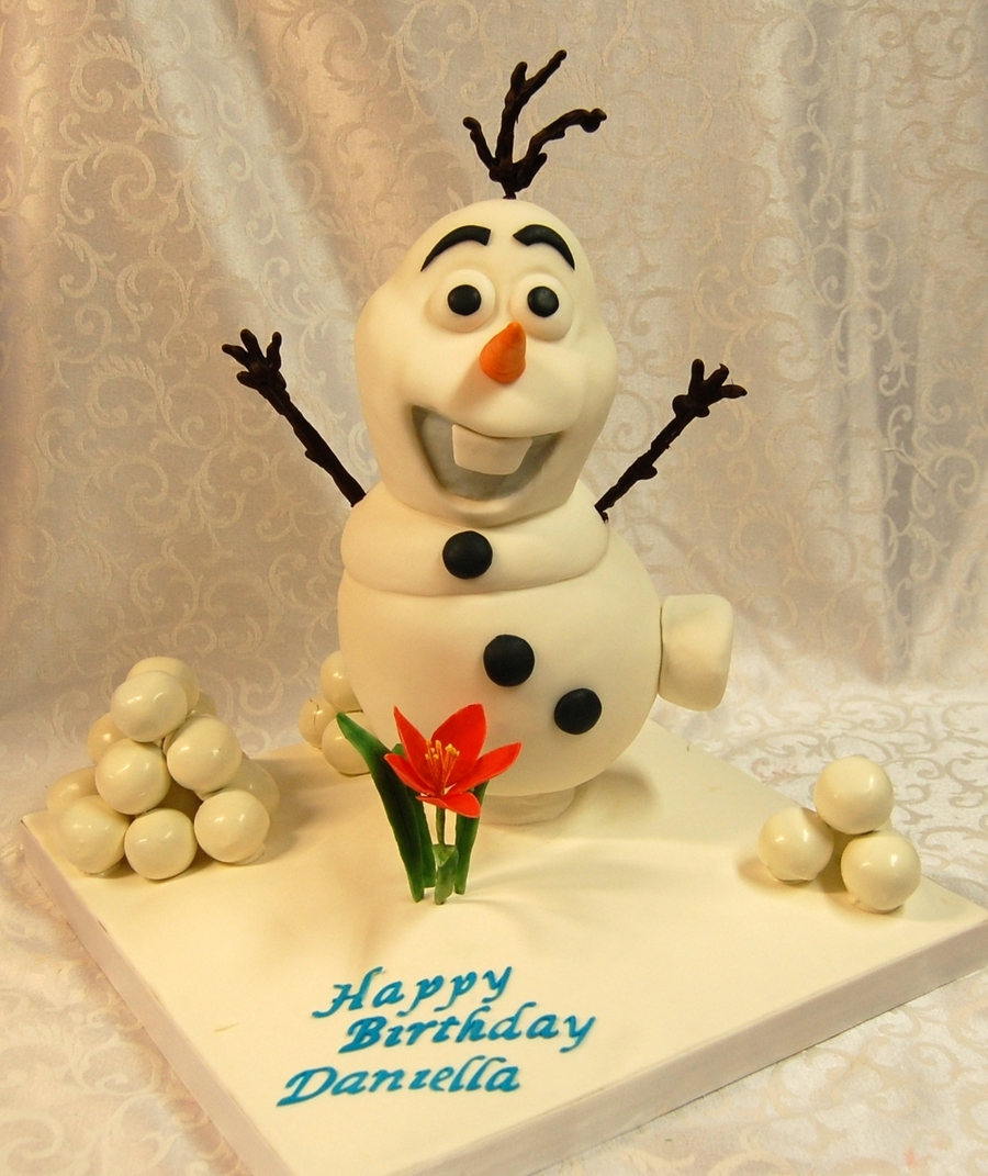 Olaf From The Movie Frozen on Cake Central