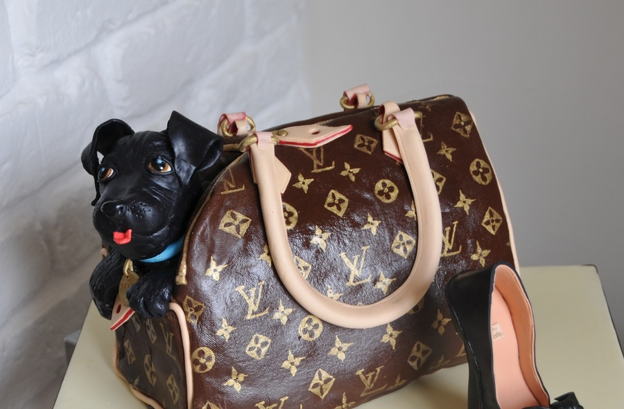 30Th Louis Vuitton Handbag Cake on Cake Central