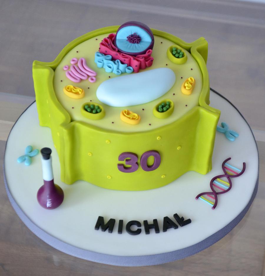 Plant Cell Cake - CakeCentral.com
