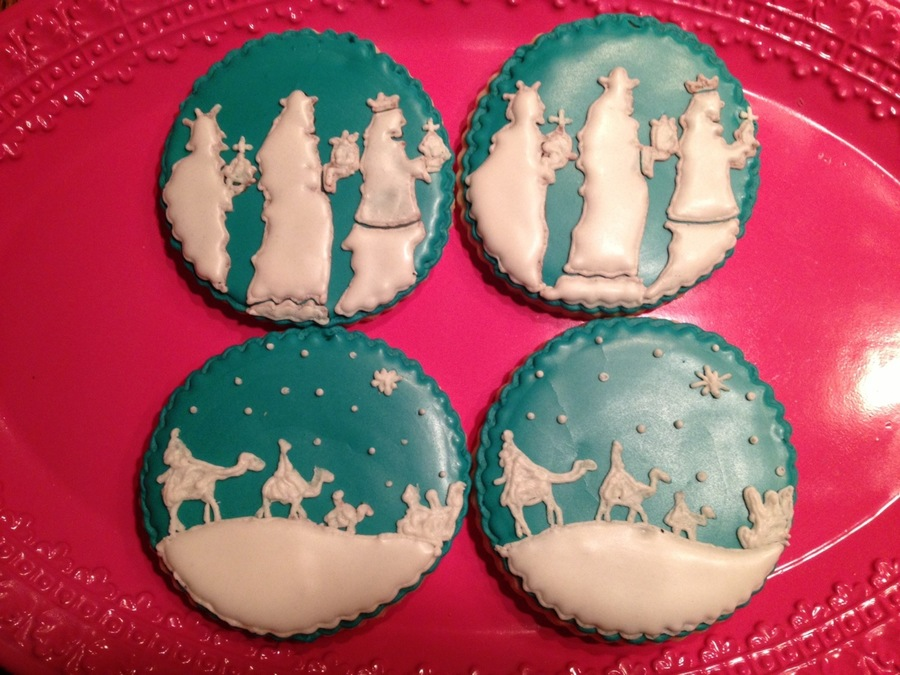 3 Kings Day Cookies on Cake Central