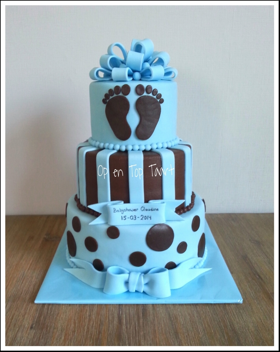 Baby boy babyshower cake for Baby boy cake decoration