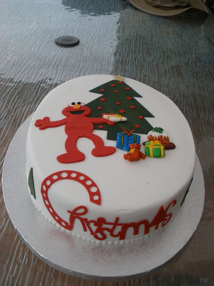 Christmas Cricut Cake on Cake Central