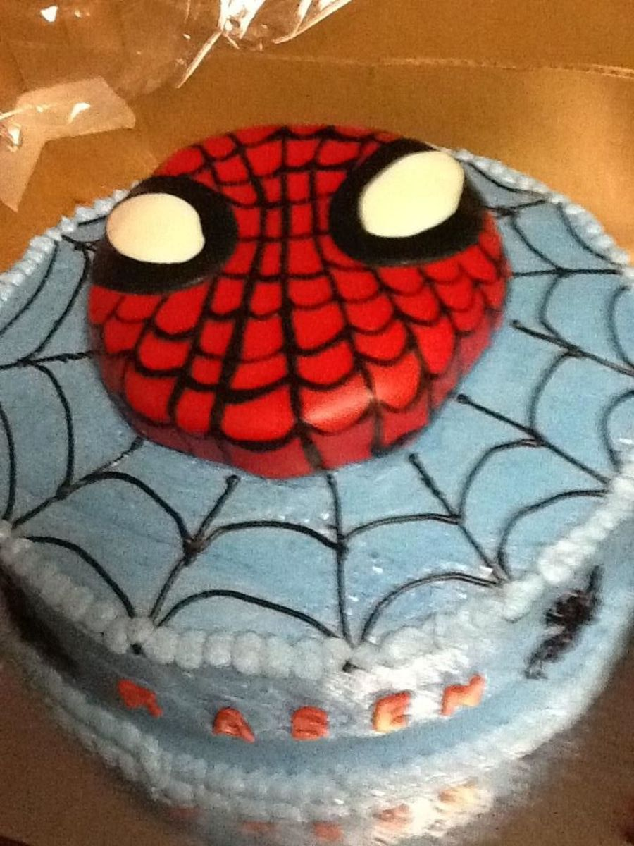 Children Birthday Cake, Spiderman on Cake Central