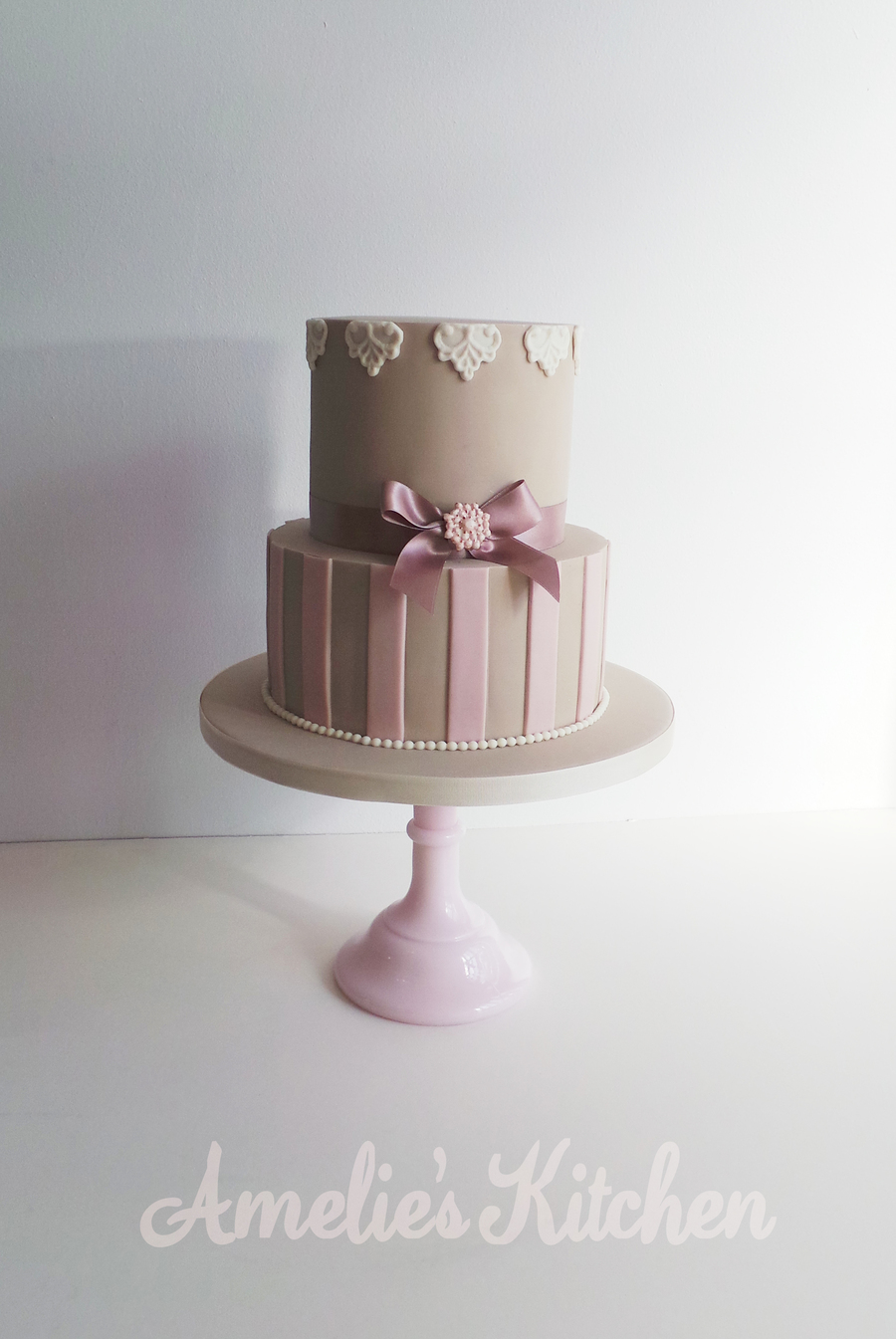 Mocha And Pink on Cake Central