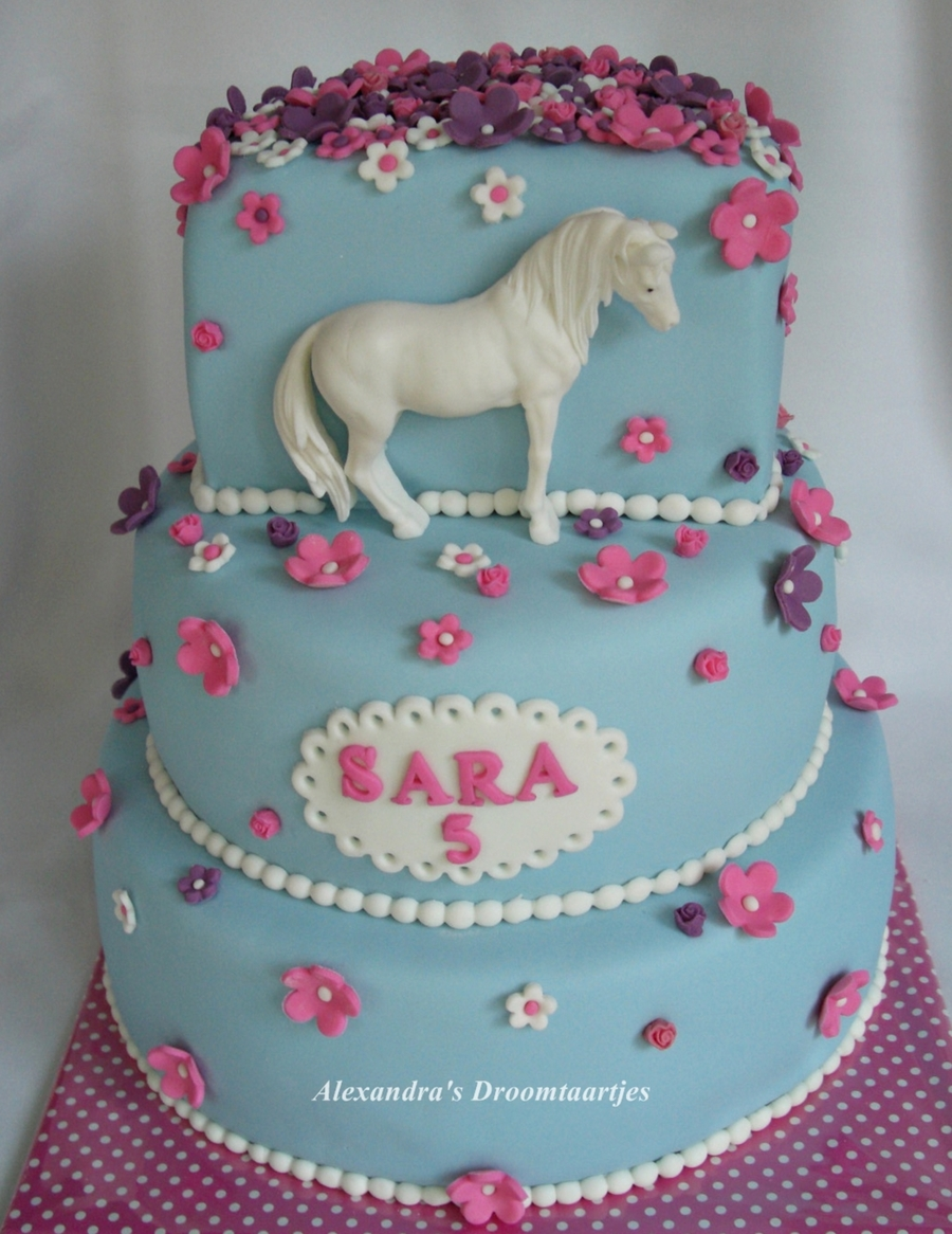 Pleasing Horse Birthday Cake Cakecentral Com Funny Birthday Cards Online Fluifree Goldxyz