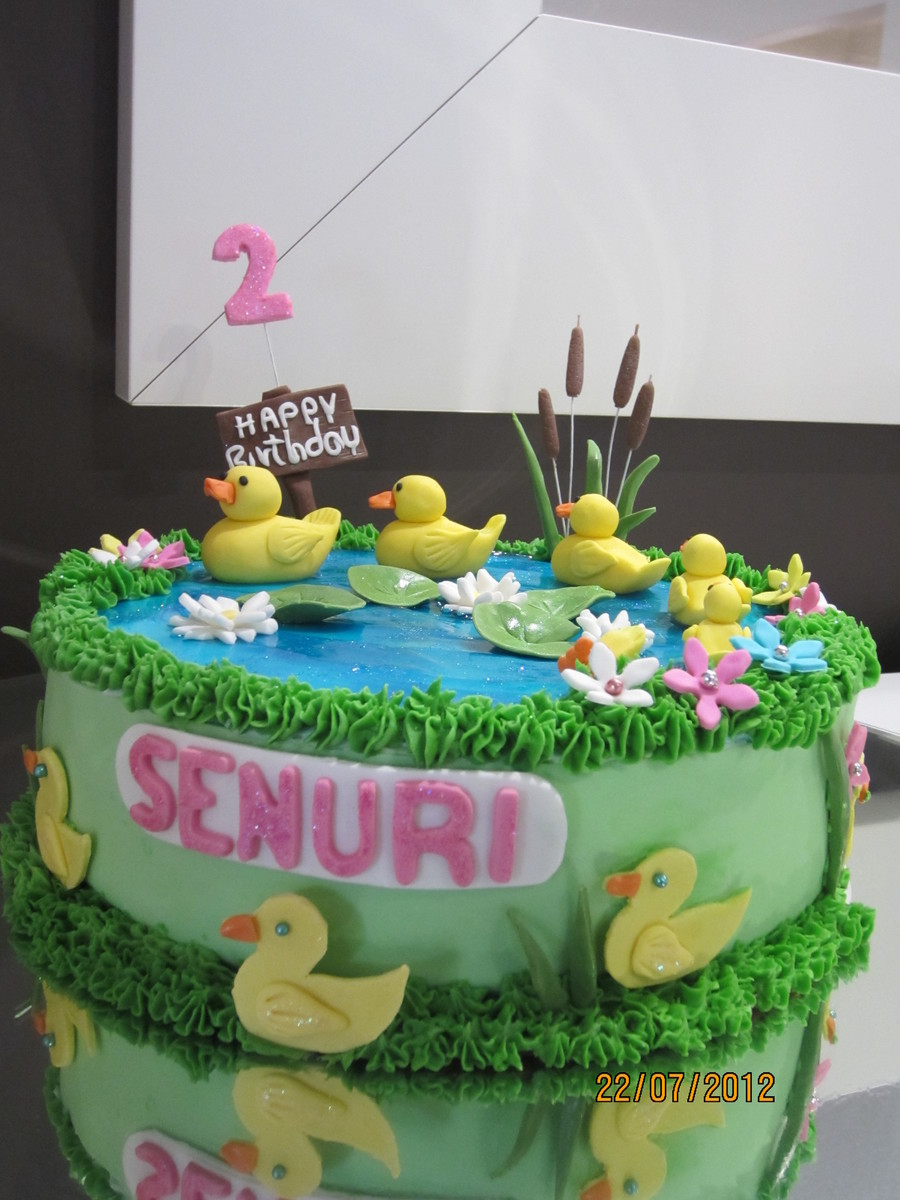 Duck Pond on Cake Central