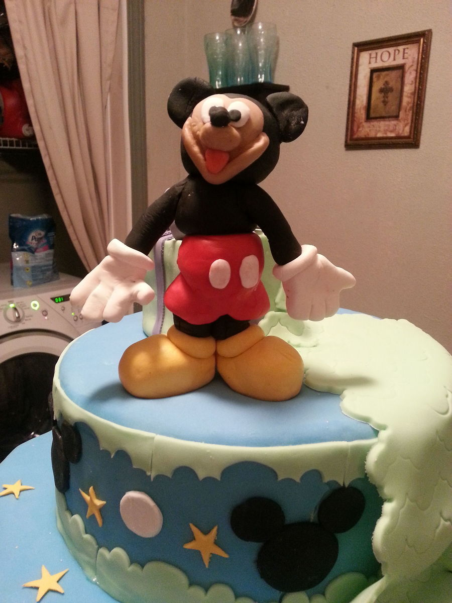 First Mickie Mouse Cake I Ever Made on Cake Central