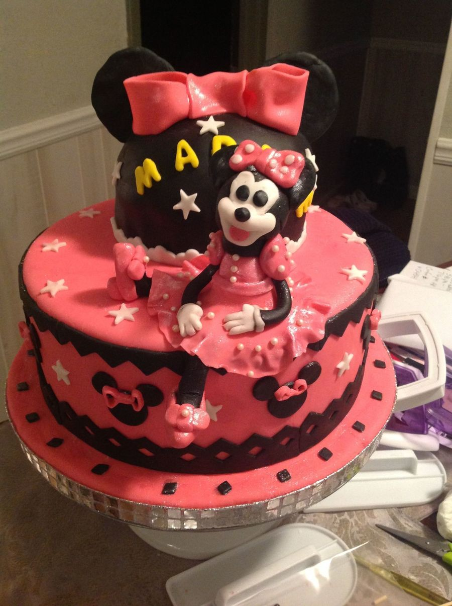 Mini Mouse Birthday Cake Cakecentral Com