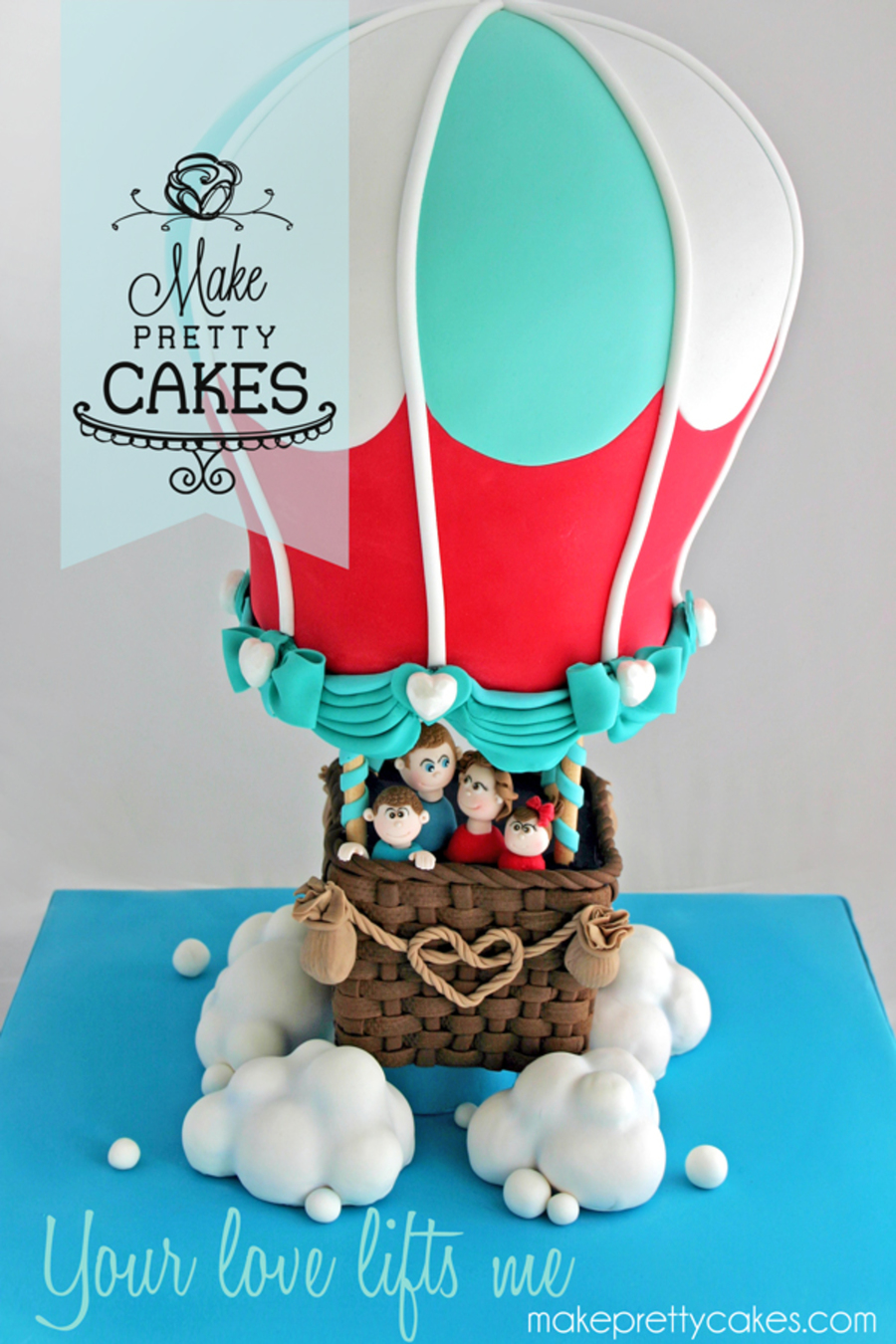 Your Love Lifts Me 3d Hot Air Balloon Cake Cakecentral Com