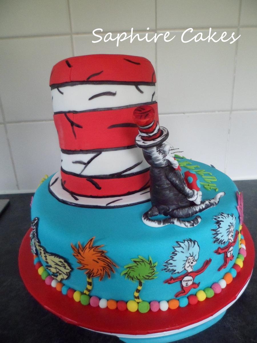 Dr Seuss Layer Cake