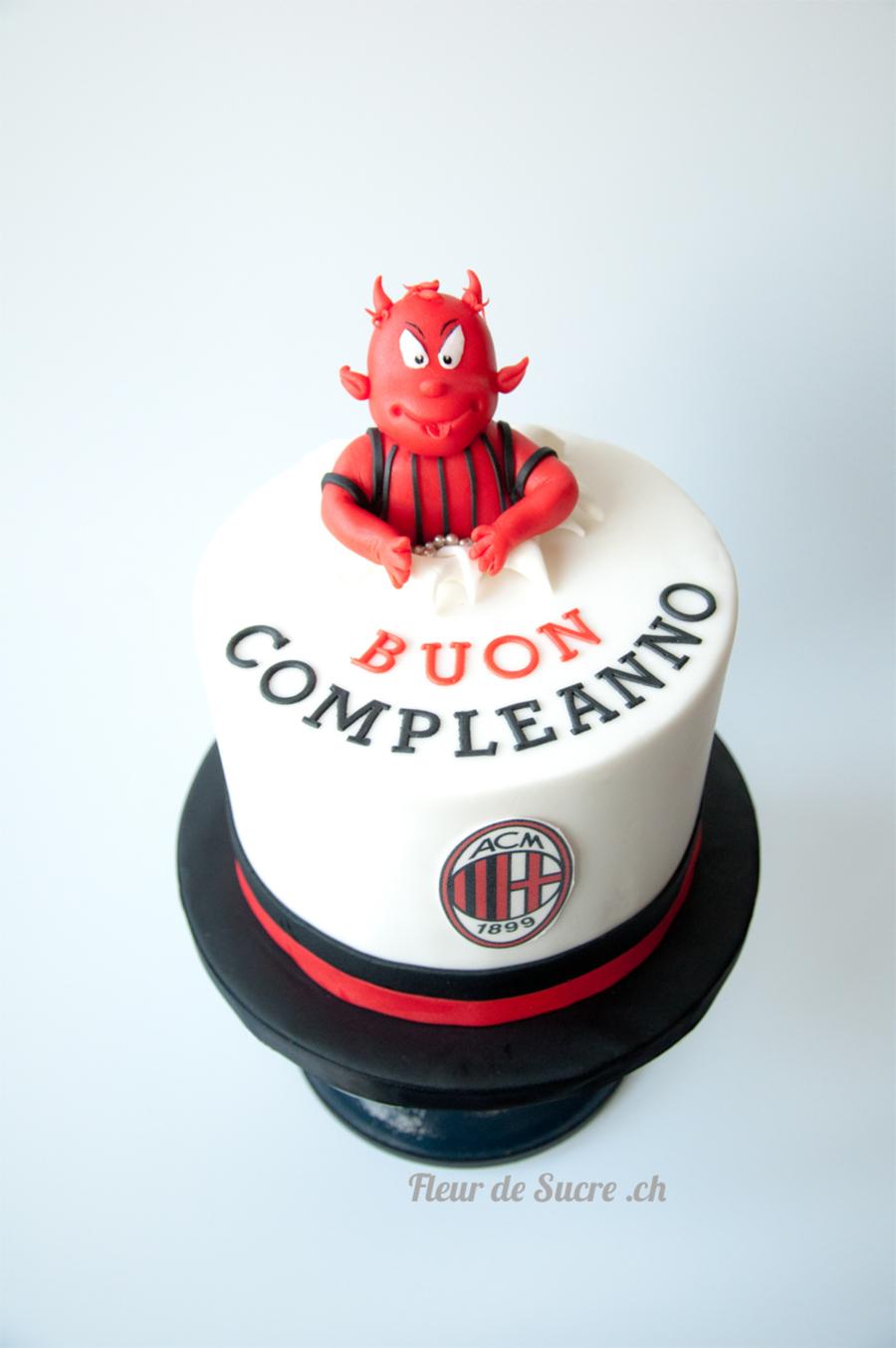 Ac Milan Birthday Cake Cakecentral Com
