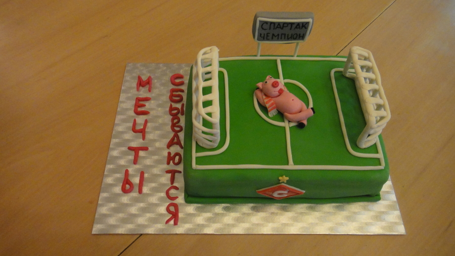Cake For Football Fan on Cake Central