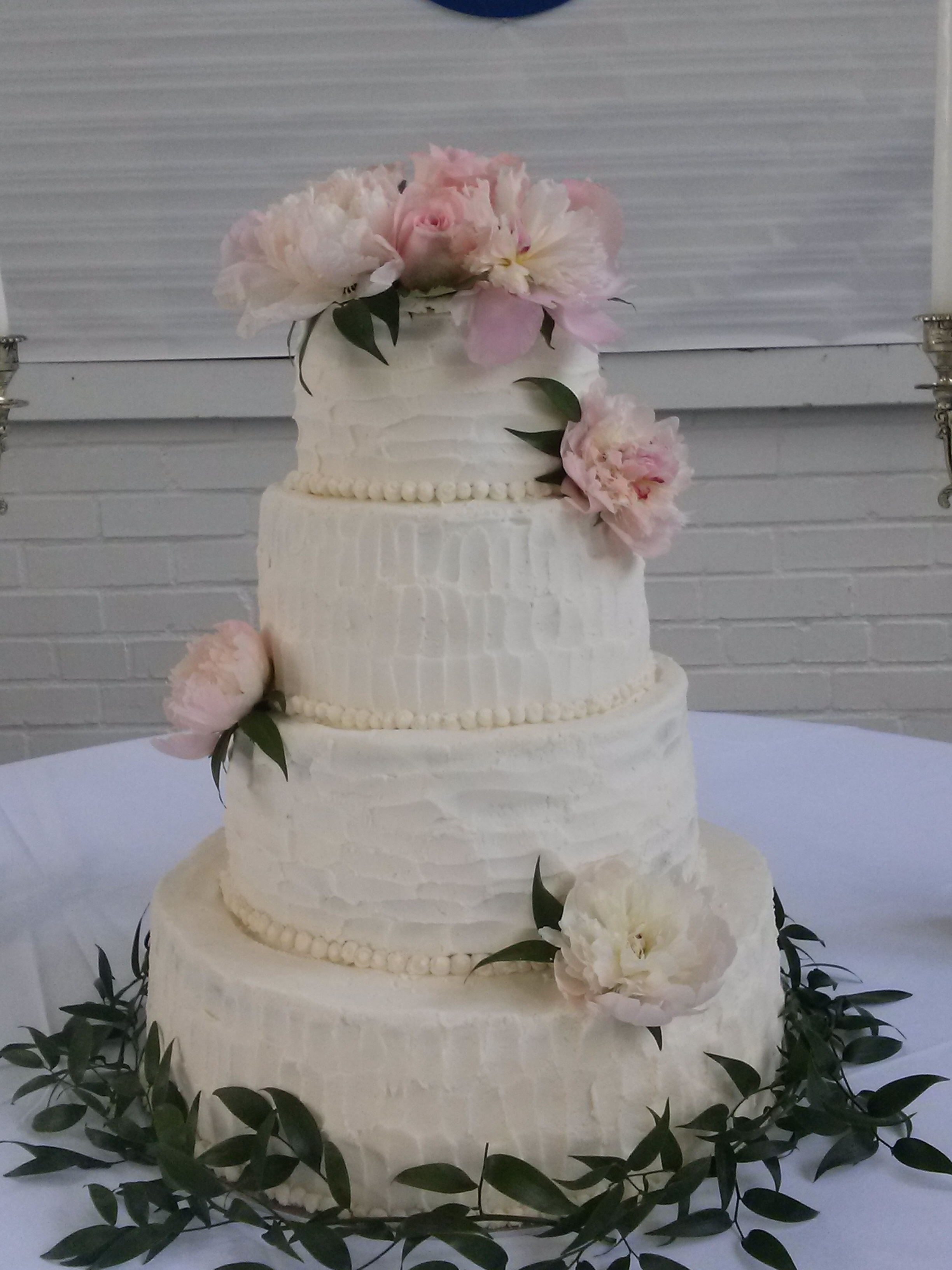 4 Tiered Round Wedding Cake Yellow Cake With Indydebis