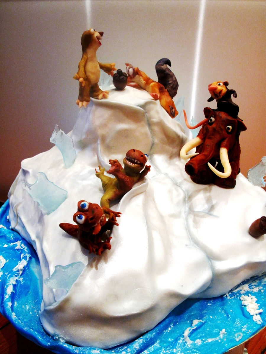 Phvb The Ice Age Cartoon Theme Birthday Cake