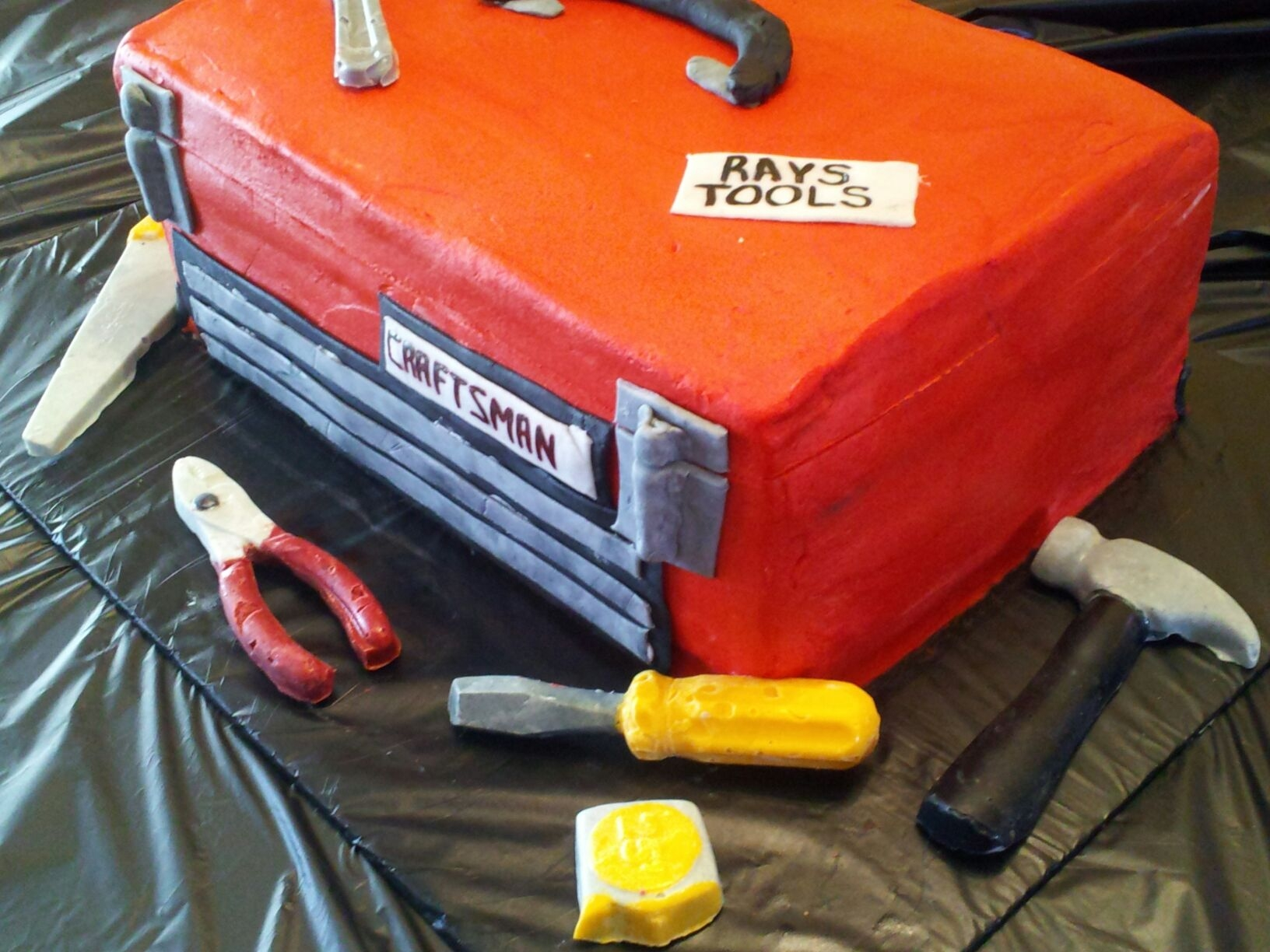 "Tool Box Cake By ""classie Cake By Yvonne"" on Cake Central"