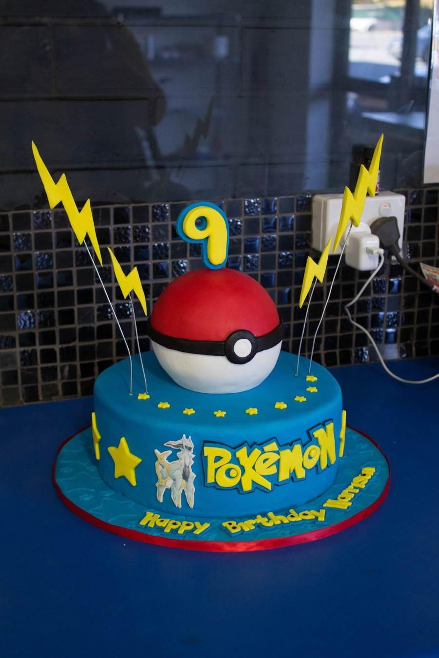 Pokemon Photo Cake