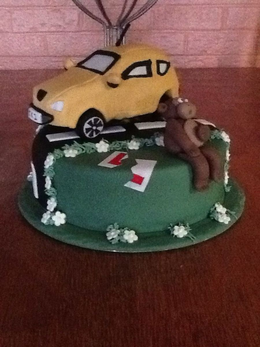 Driving Test Pass Cake on Cake Central