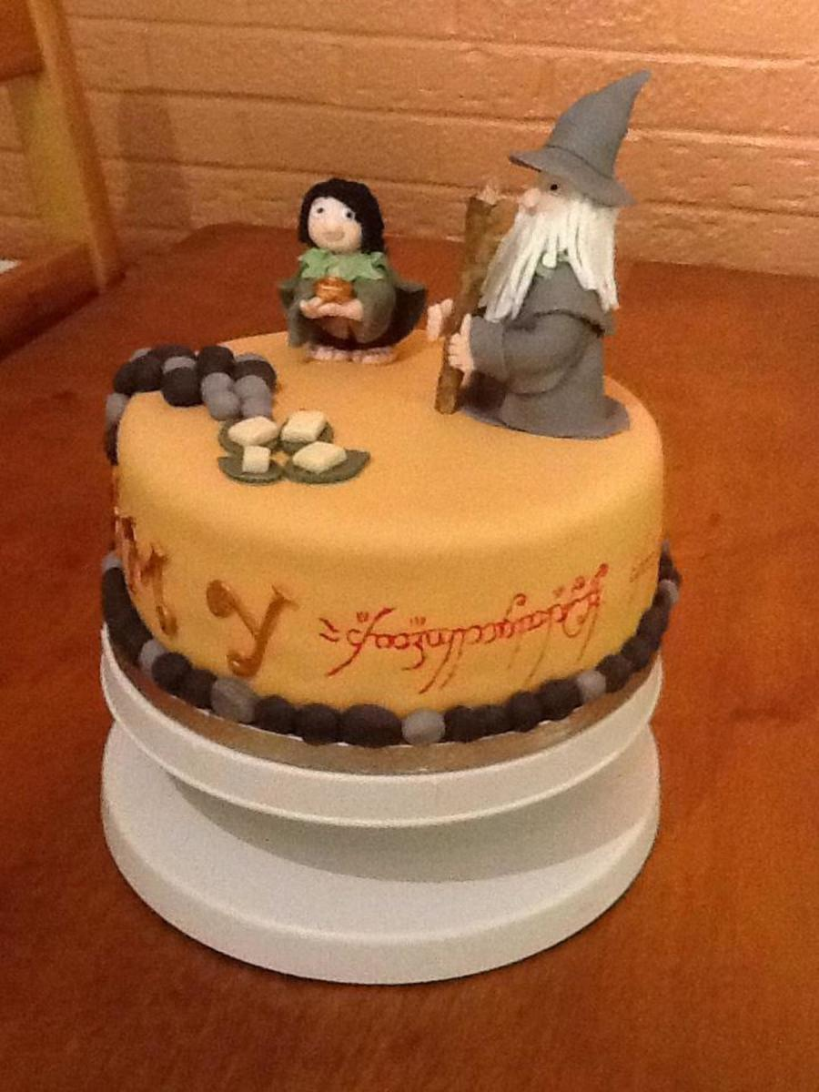 Lord Of The Rings Birthday Cake Ideas