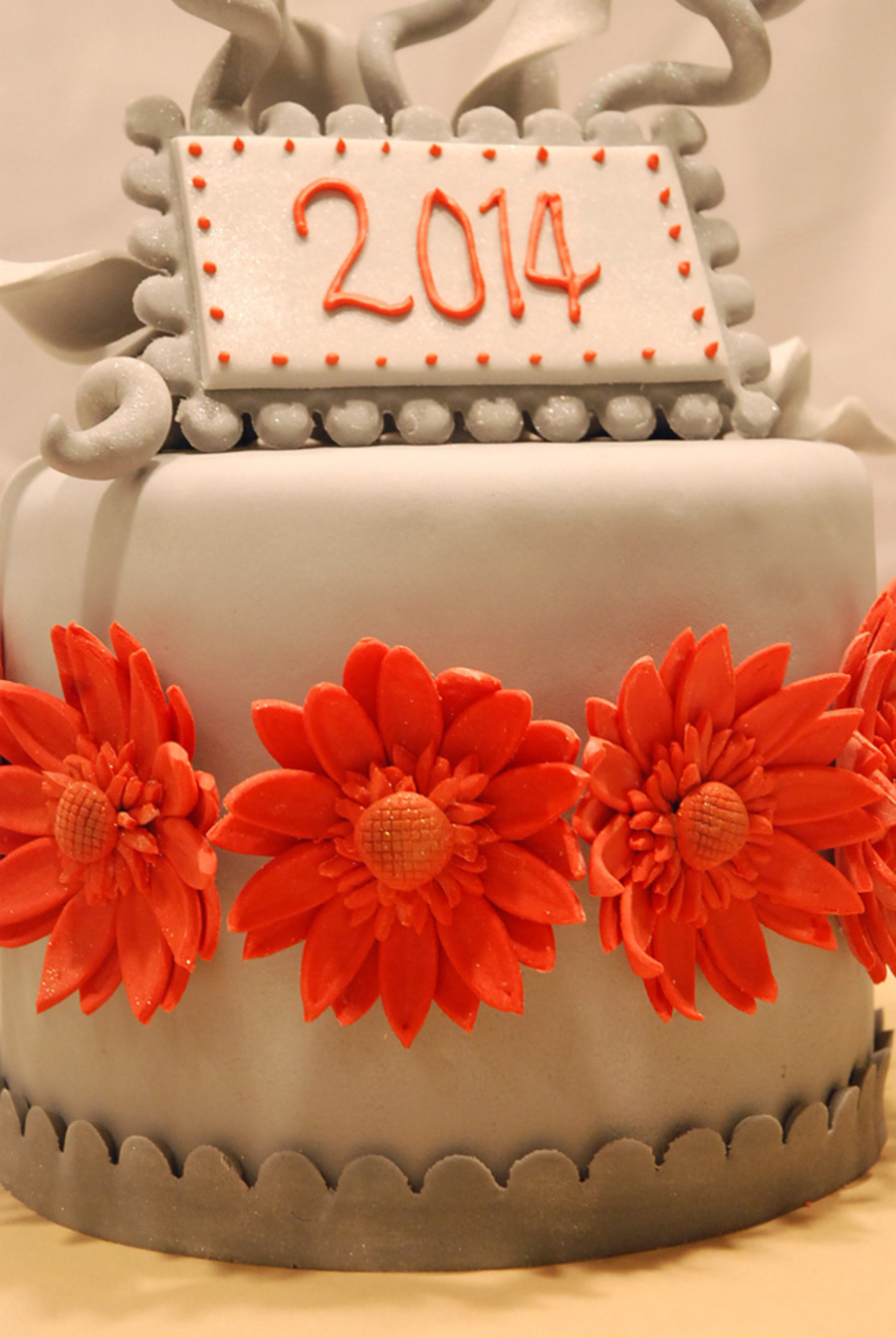 New Year Cake I Wanted To Create A Colorful But Elegant Design Its A