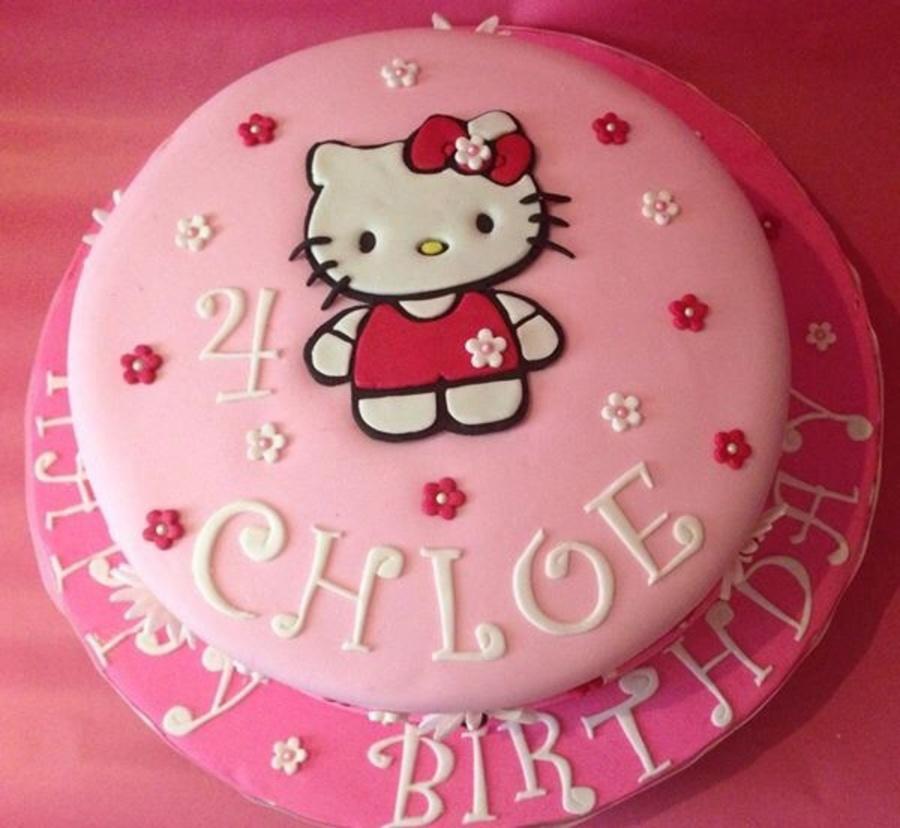 Th Birthday Hello Kitty Cake