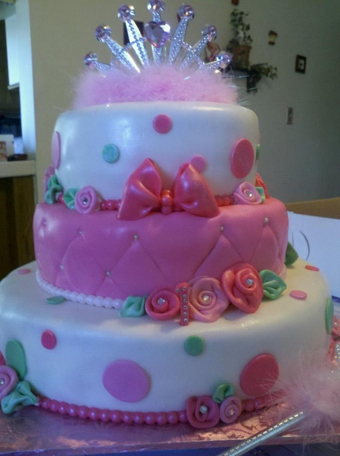 One Of My Favorite Cakes Made This For A Little Girls 9th