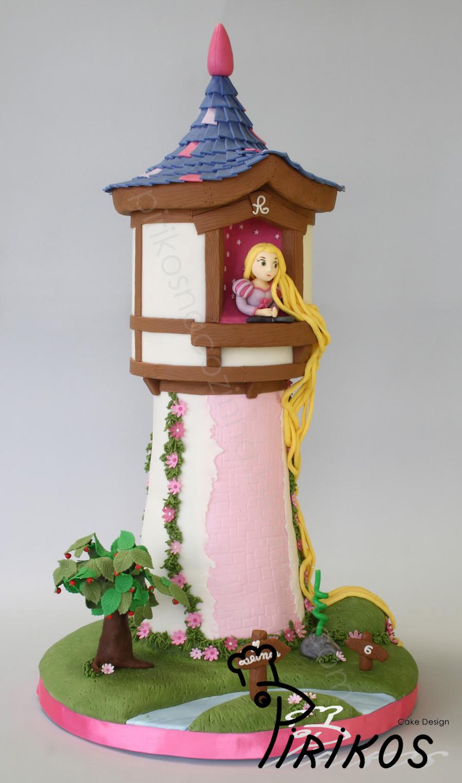 Rapunzel S Tower Cake Cakecentral Com