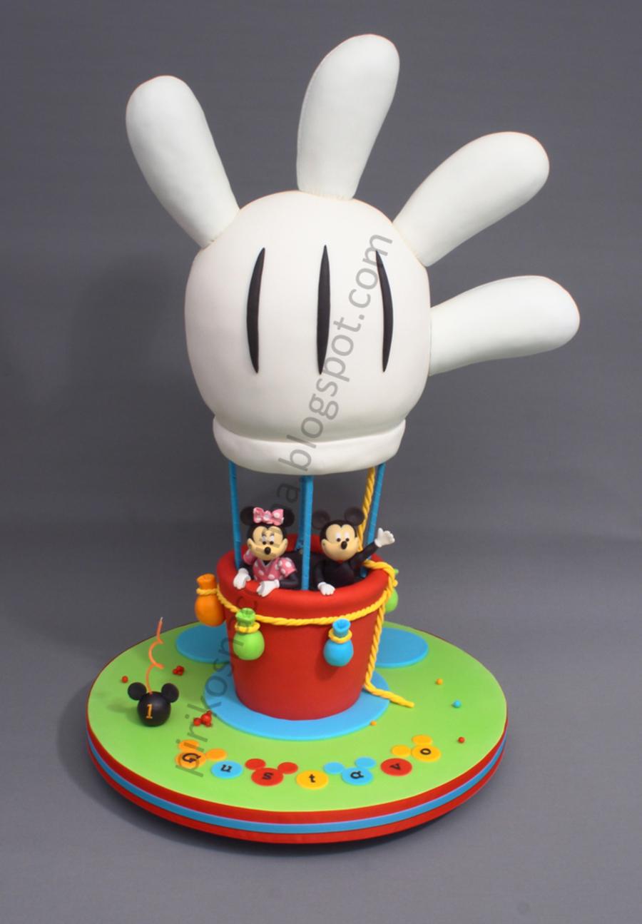 Mickey S Balloon Cake Cakecentral Com