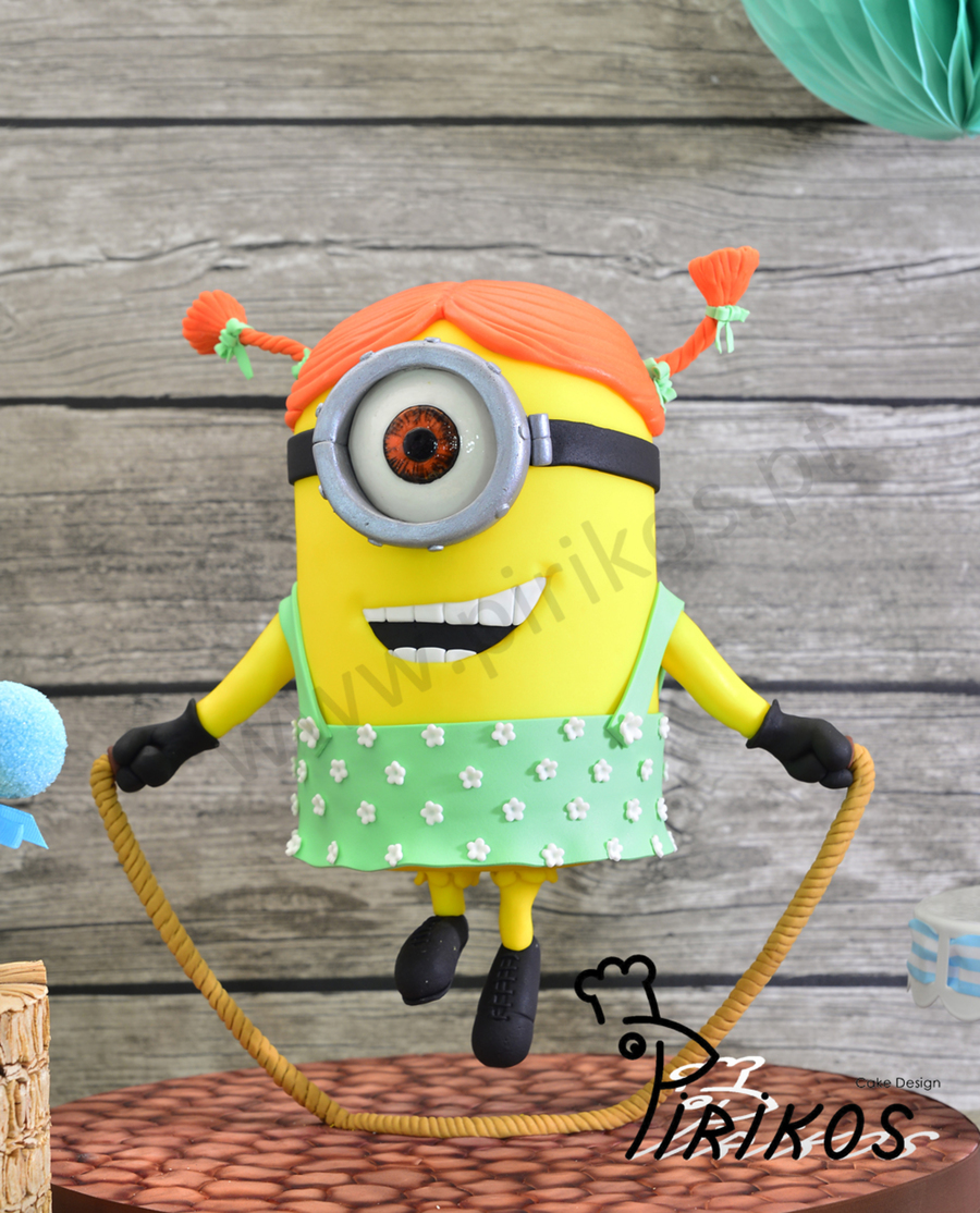 Skipping Minion Cake Cakecentral Com