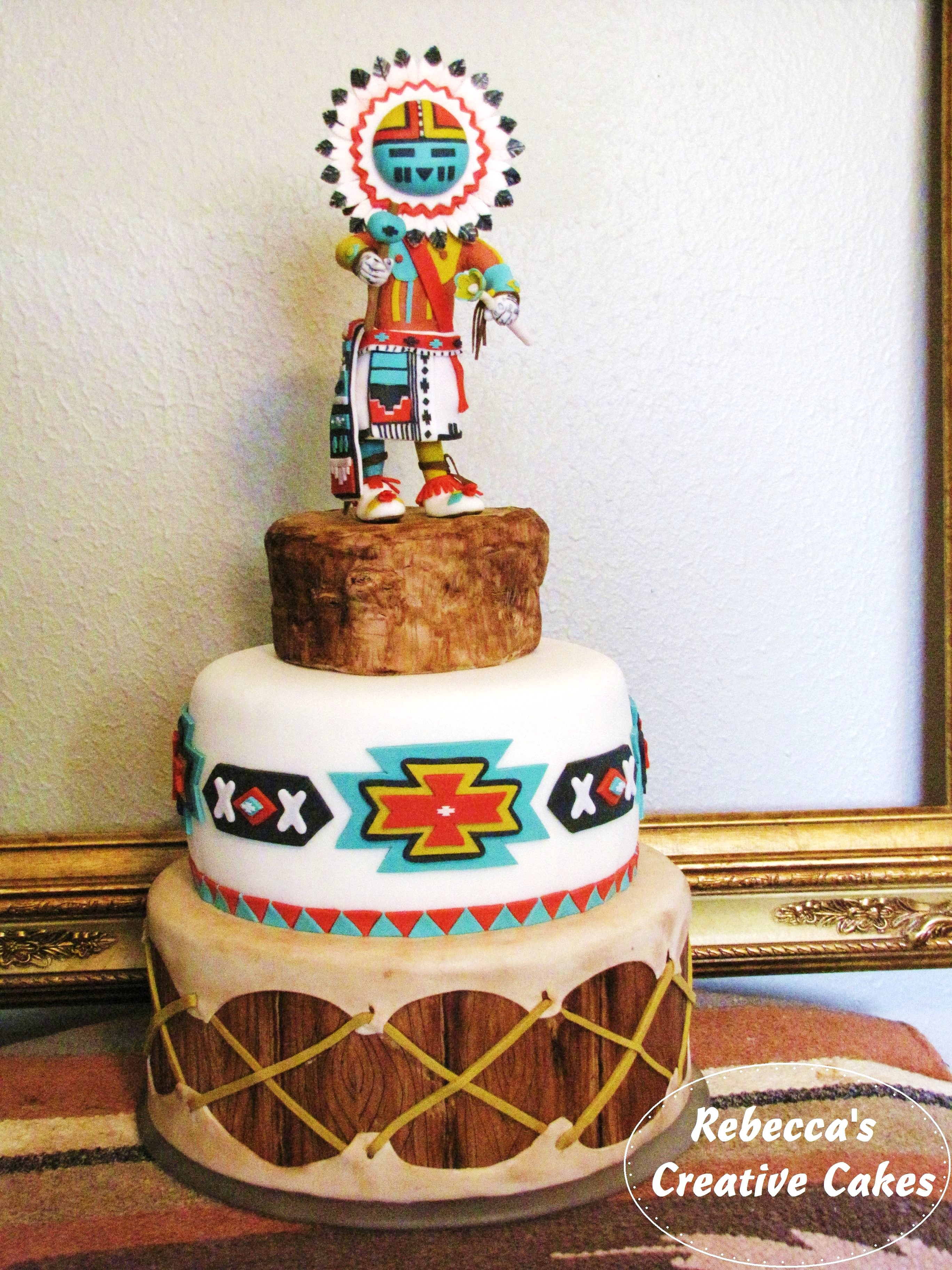 Native American Themed Cake