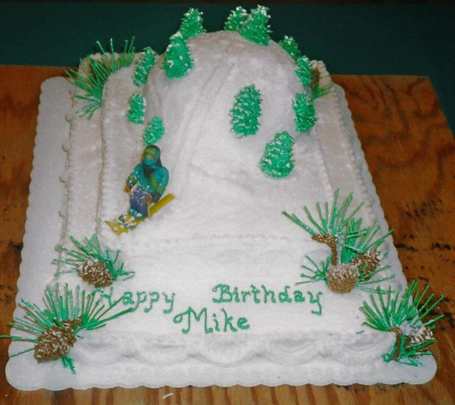 Snow Skiing on Cake Central