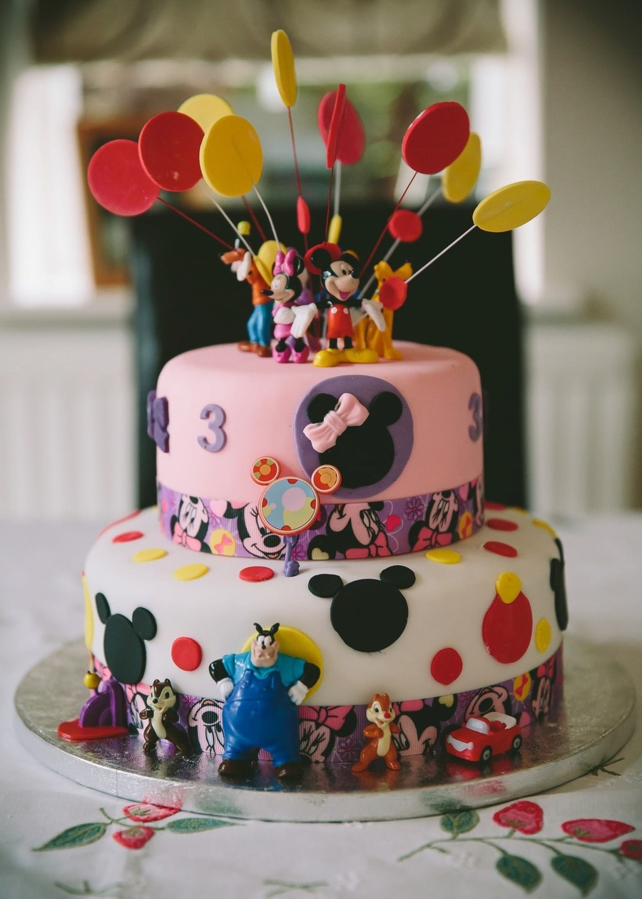 Girls Mickey Mouse Clubhouse Cake Cakecentral Com